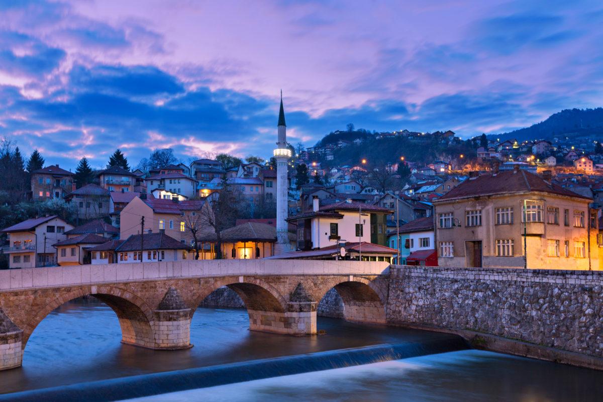 Old Town in Sarajevo